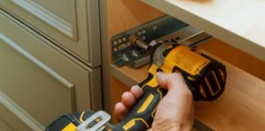 Remove any hardware and store them somewhere safe and secure if you plan on reusing them.