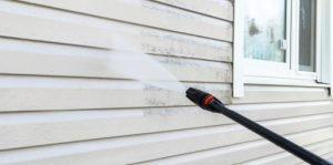 powerwash home exterior